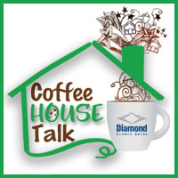 coffee house talk logo introducting what to do before buying a house event