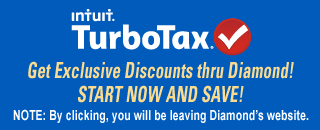 TurboTax thru Diamond Credit Union